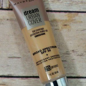 Maybelline Dream Urban Cover Sunscreen Makeup